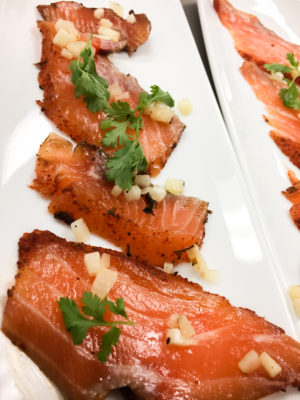 Chili Cured Salmon